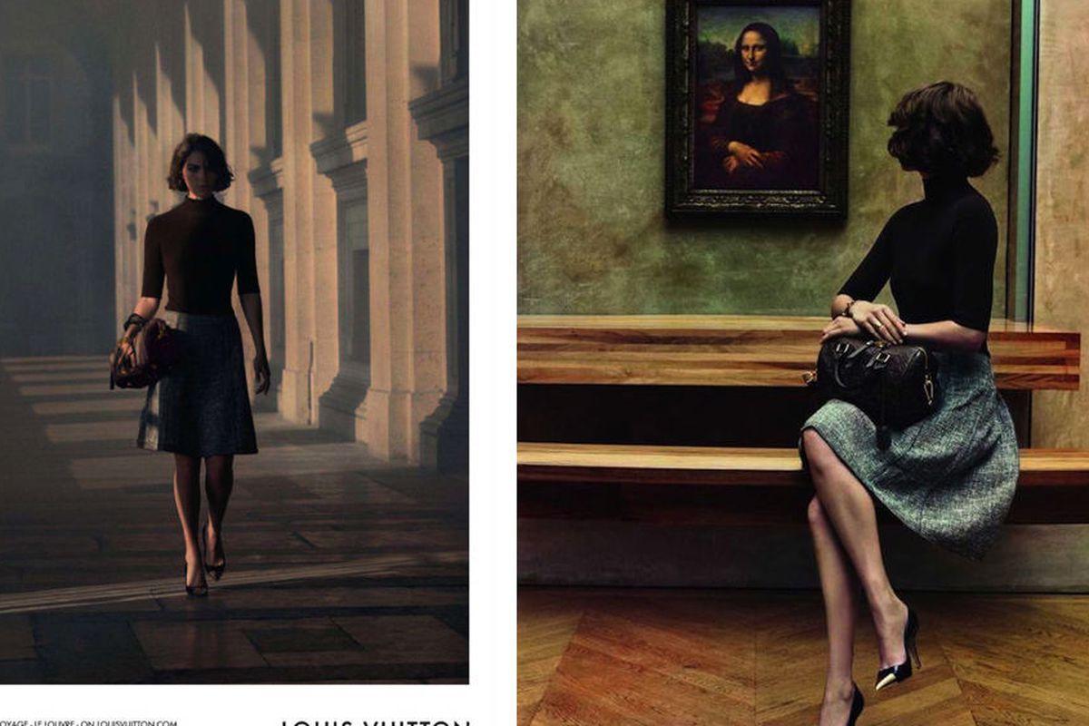 """Images via <a href=""""http://www.designscene.net/2012/11/arizona-muse-louis-vuitton-art-travel.html?utm_source=feedburner&amp;utm_medium=feed&amp;utm_campaign=Feed%3A+DesignScene+%28Design+Scene%29"""">Design Scene</a>"""