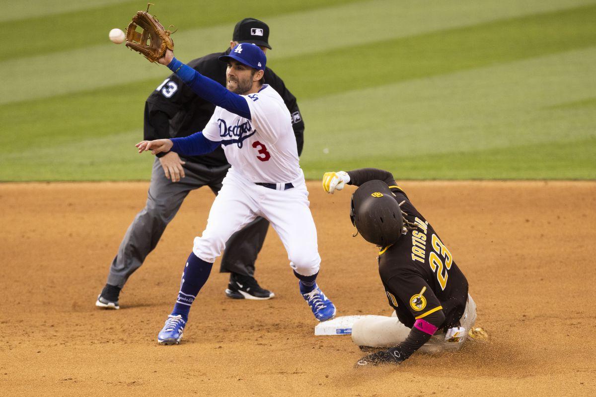 MLB: APR 25 Padres at Dodgers
