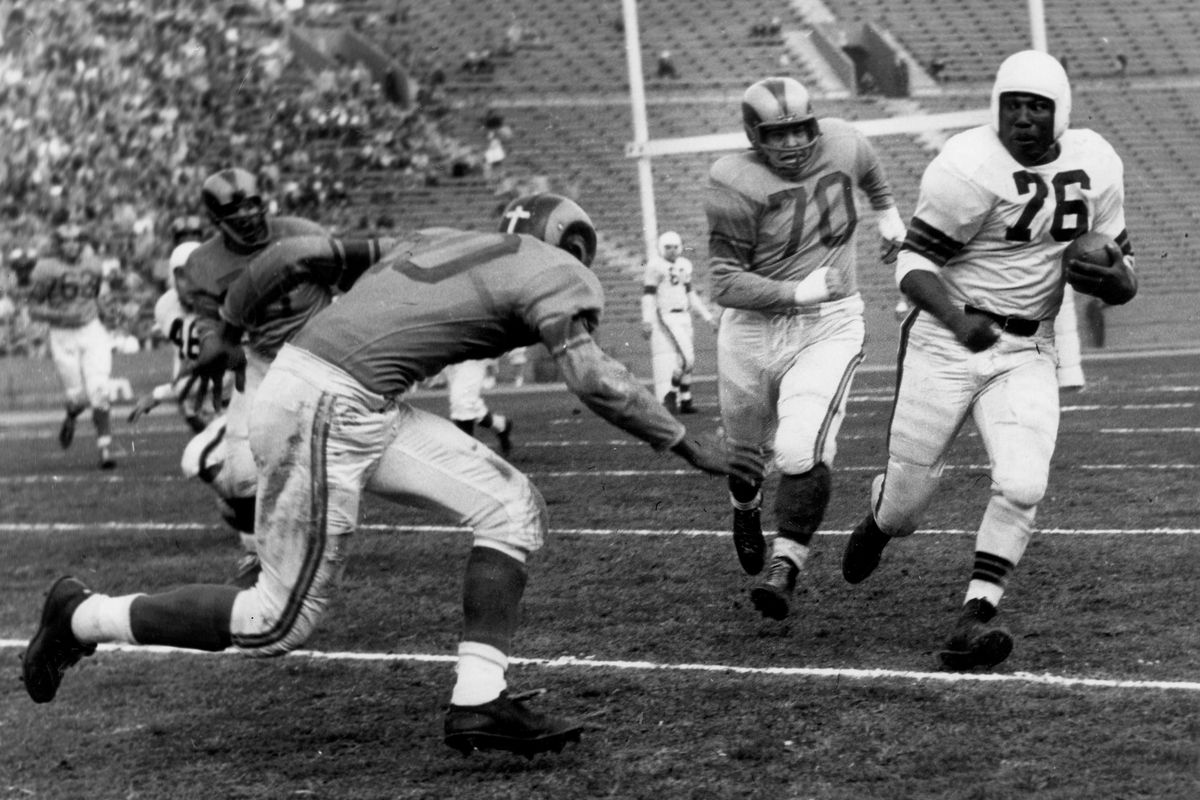 1951 NFL Championship Game - Cleveland Browns at Los Angeles Rams - December 23, 1951