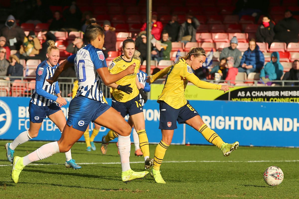 Brighton and Hove Albion v Arsenal - Women's Super League - The People's Pension Stadium