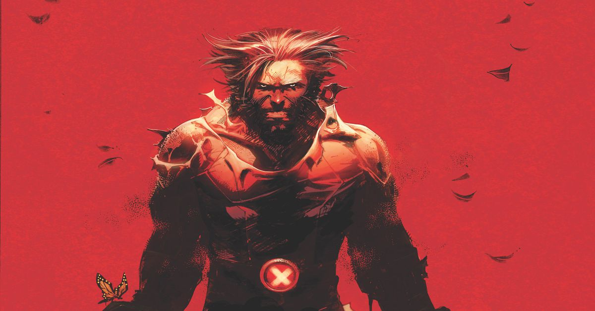 Wolverine #1 puts two claws forward, one claw back