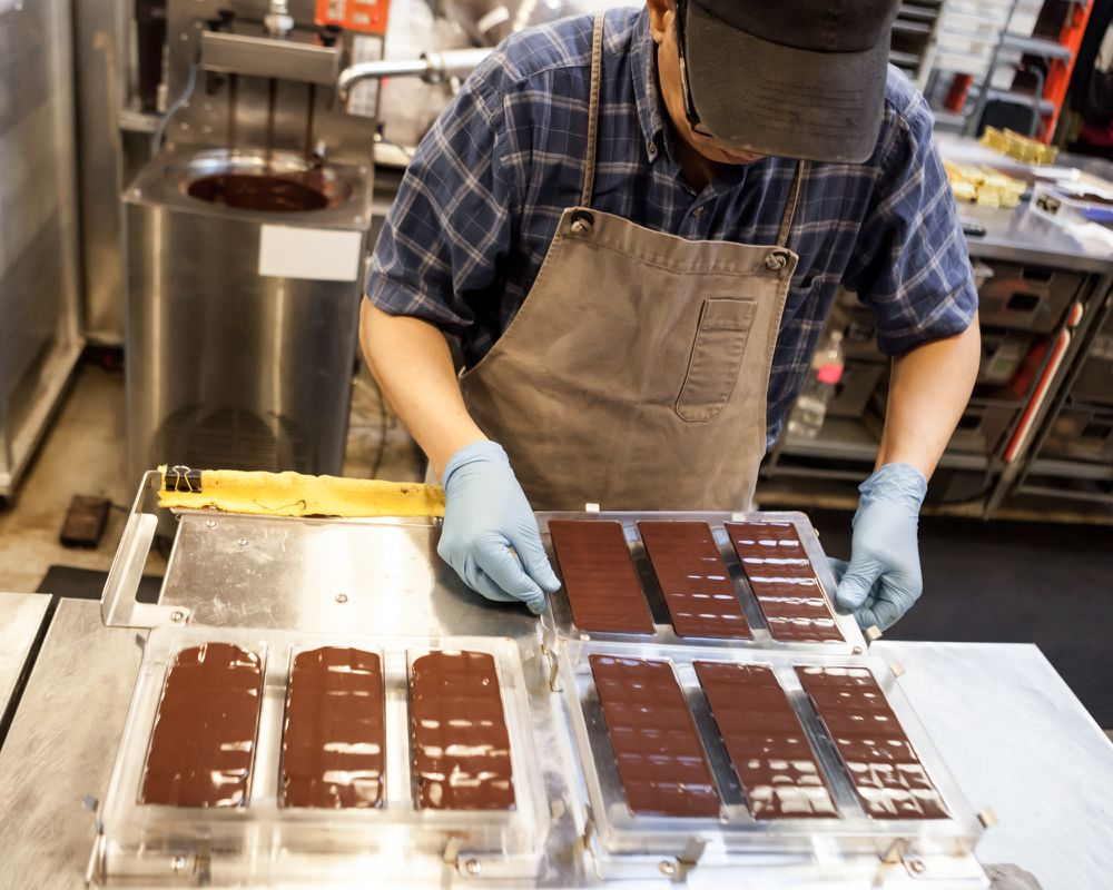 How Beans Become Delicious Chocolate Bars at SF's Dandelion ...