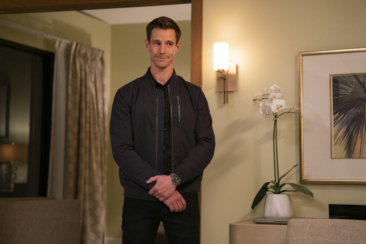 Jason Dohring as Logan in the Veronica Mars revival