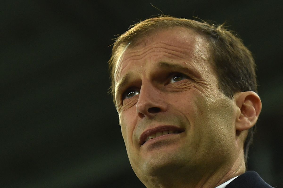 Lest we forget, Allegri made this face last time these teams met.