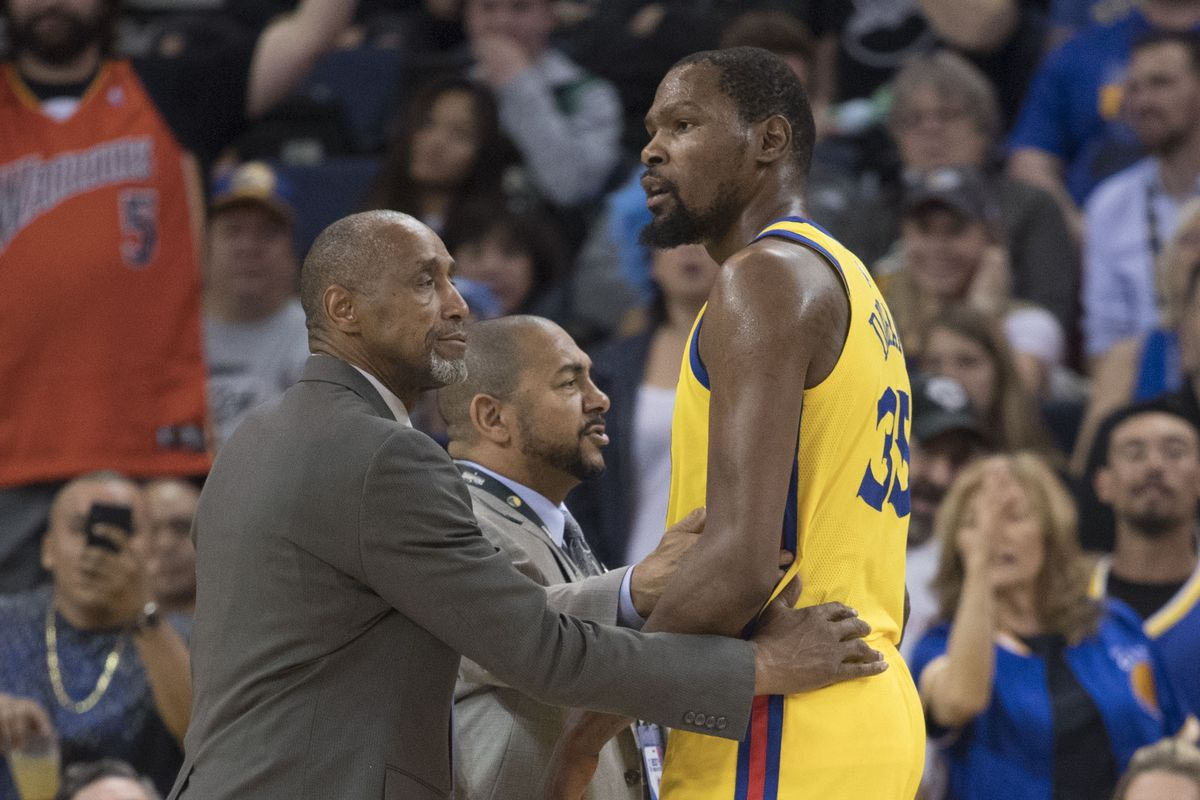 0afcdf4d1397 Kevin Durant is getting ejected at nearly a Rasheed Wallace pace this season