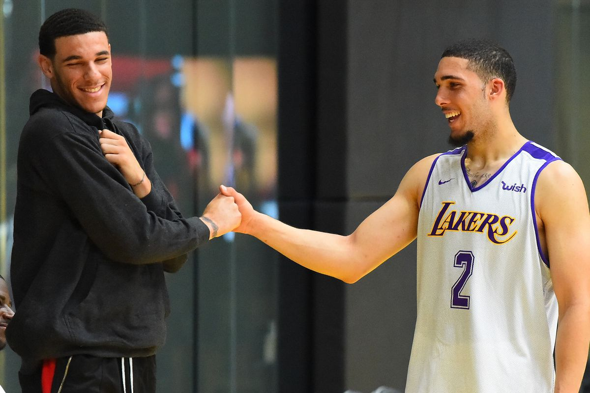 Lakers News Liangelo Ball Says Lonzo Ball Has Helped A Lot