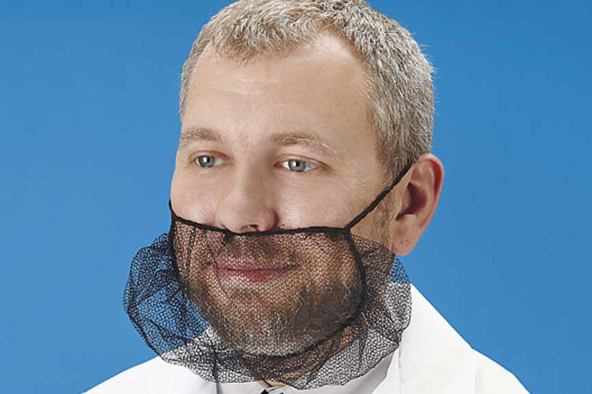 beard hair net sales are booming thanks to hipster chef bros eater. Black Bedroom Furniture Sets. Home Design Ideas