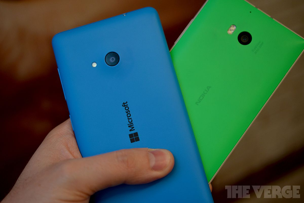 197994ee777 Microsoft s first Lumia defines Windows Phone s future - The Verge