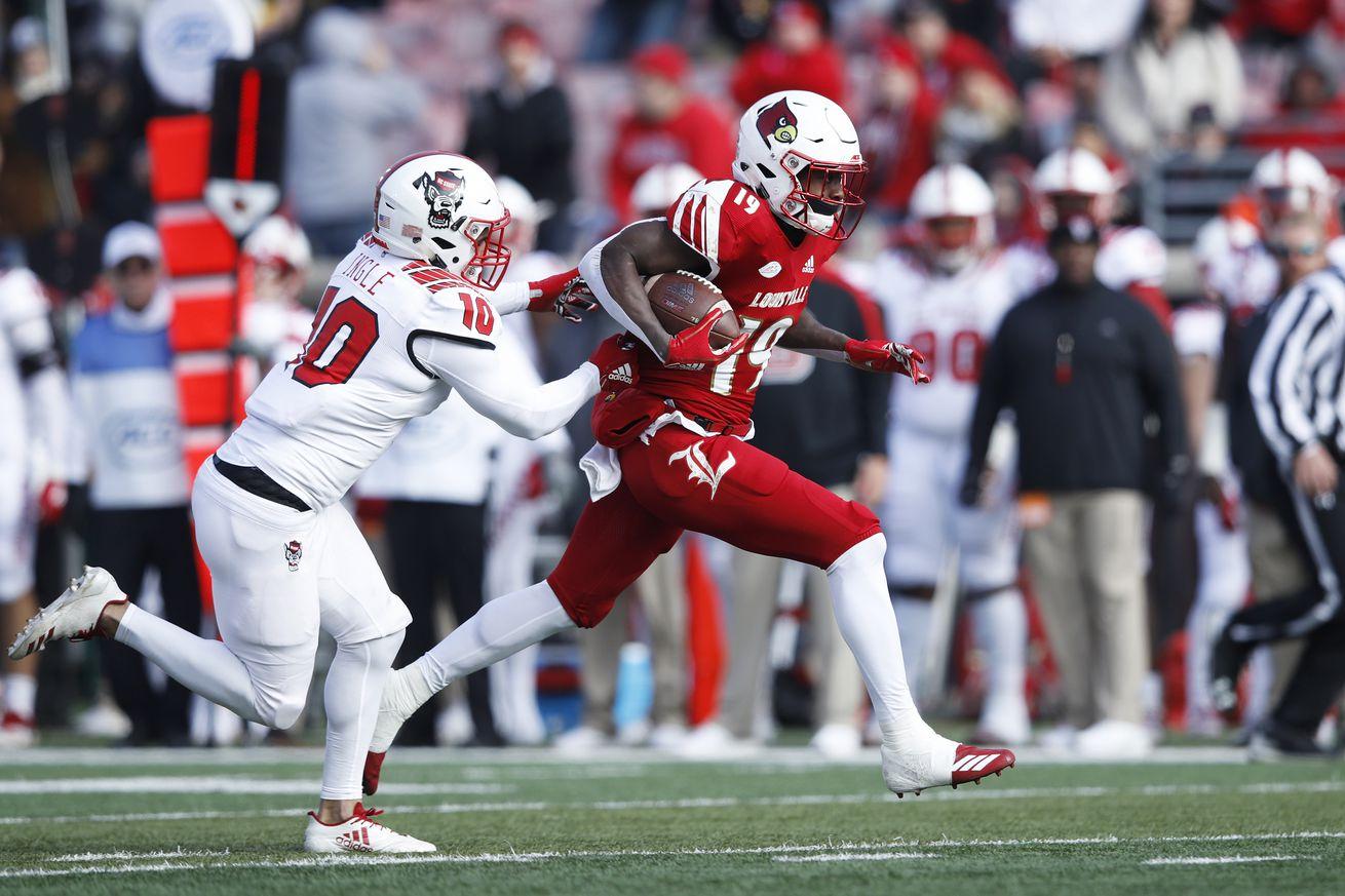 Louisville Football Position Preview: Running Backs