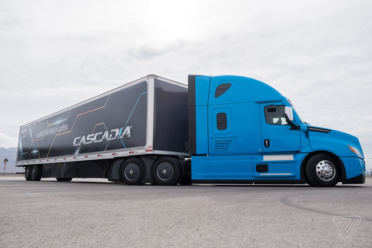 That Means By The End Of Year Truckers Around Country Will Be Able To Use New Cascadia S Driver Istance Features Make Their Long
