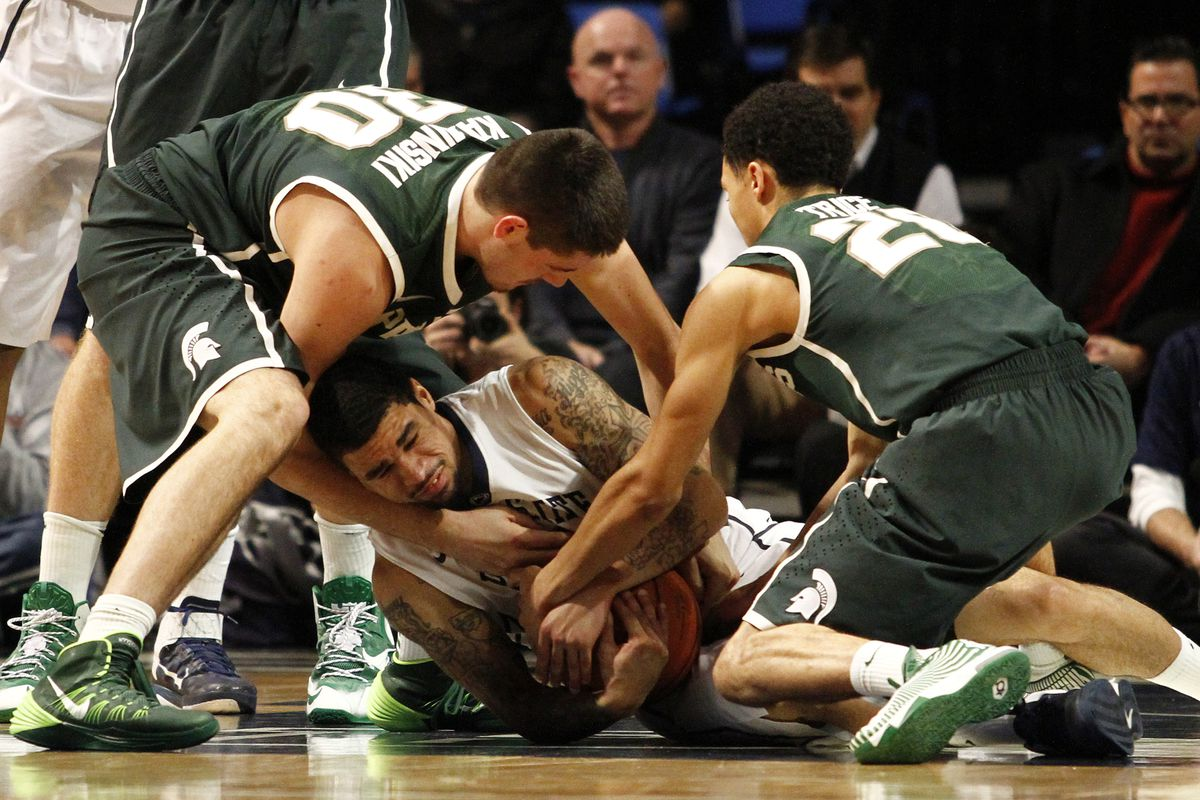 Penn State is often a struggle for the Spartans at home