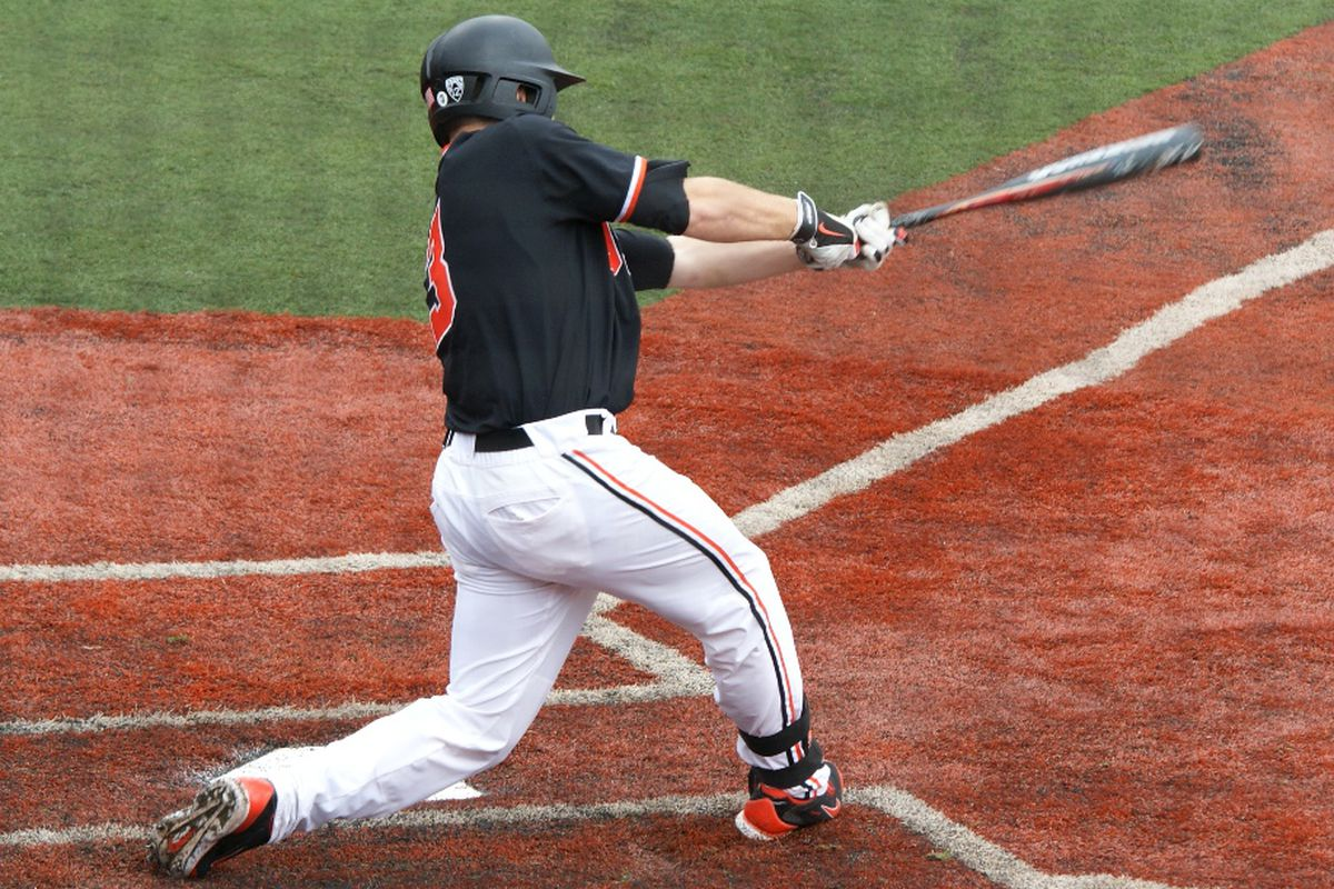 The Beavers banged out 3 wins in 4 games over the weekend, and slipped only from #4 to #5 as a result of the lone loss.