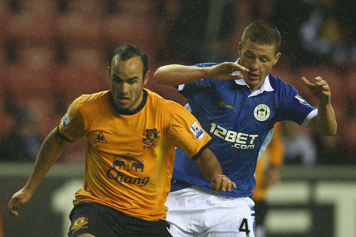 McCarthy comes up against Goodison fan favourite Landon Donovan