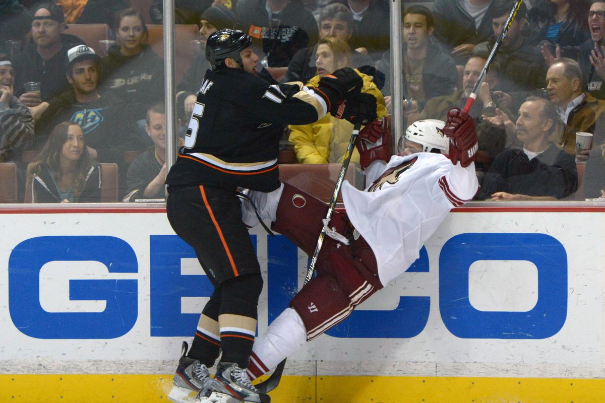 Don't be sad Coyotes fans. This is what the captain is doing to the entire league this year.