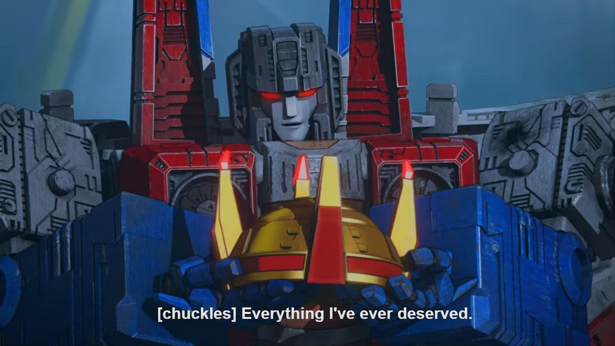 Optimus crown in War for Cybertron