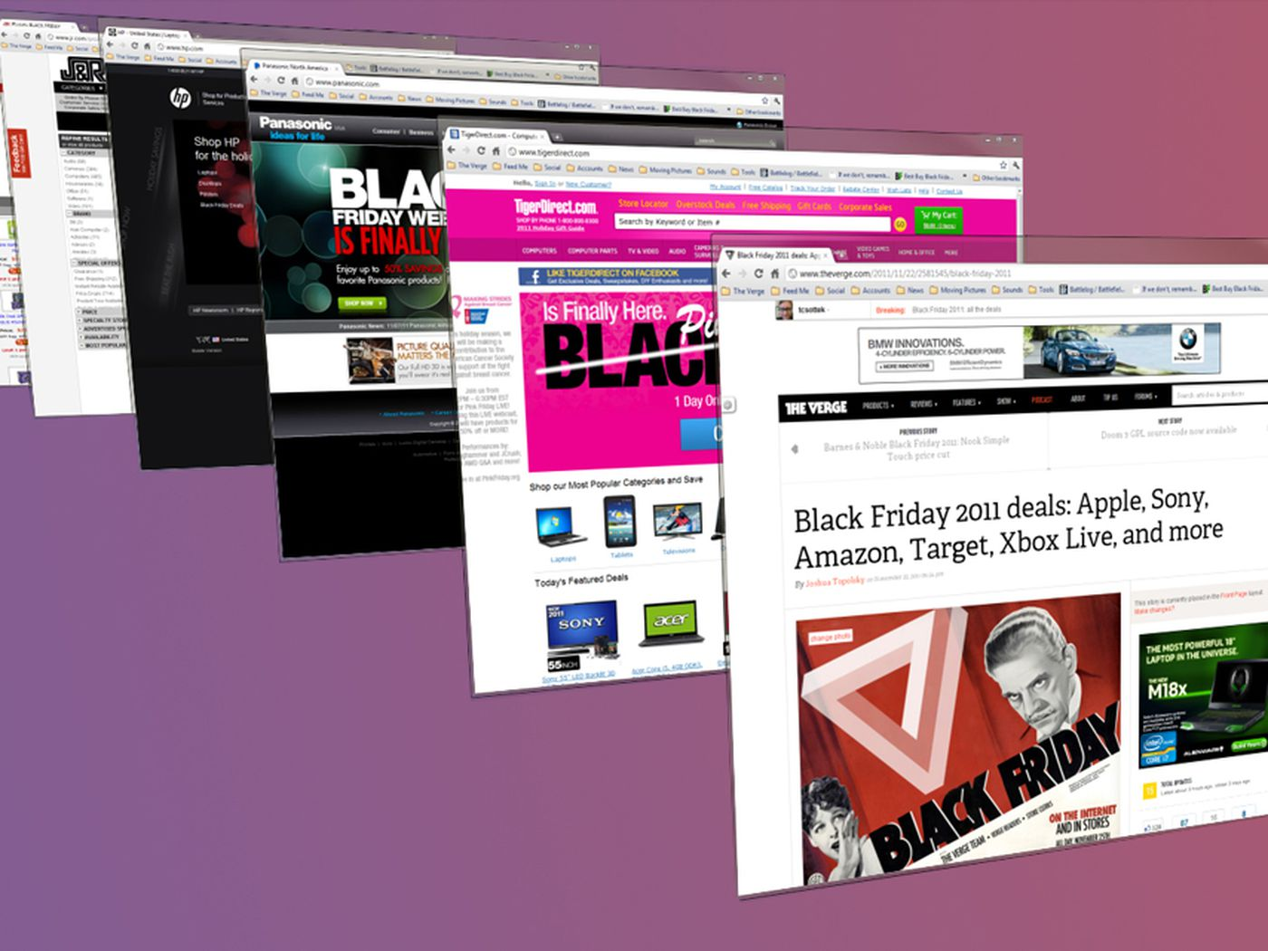 Black Friday 2011 Extra Deals Around The Web Laptops Cameras Ssds And More The Verge