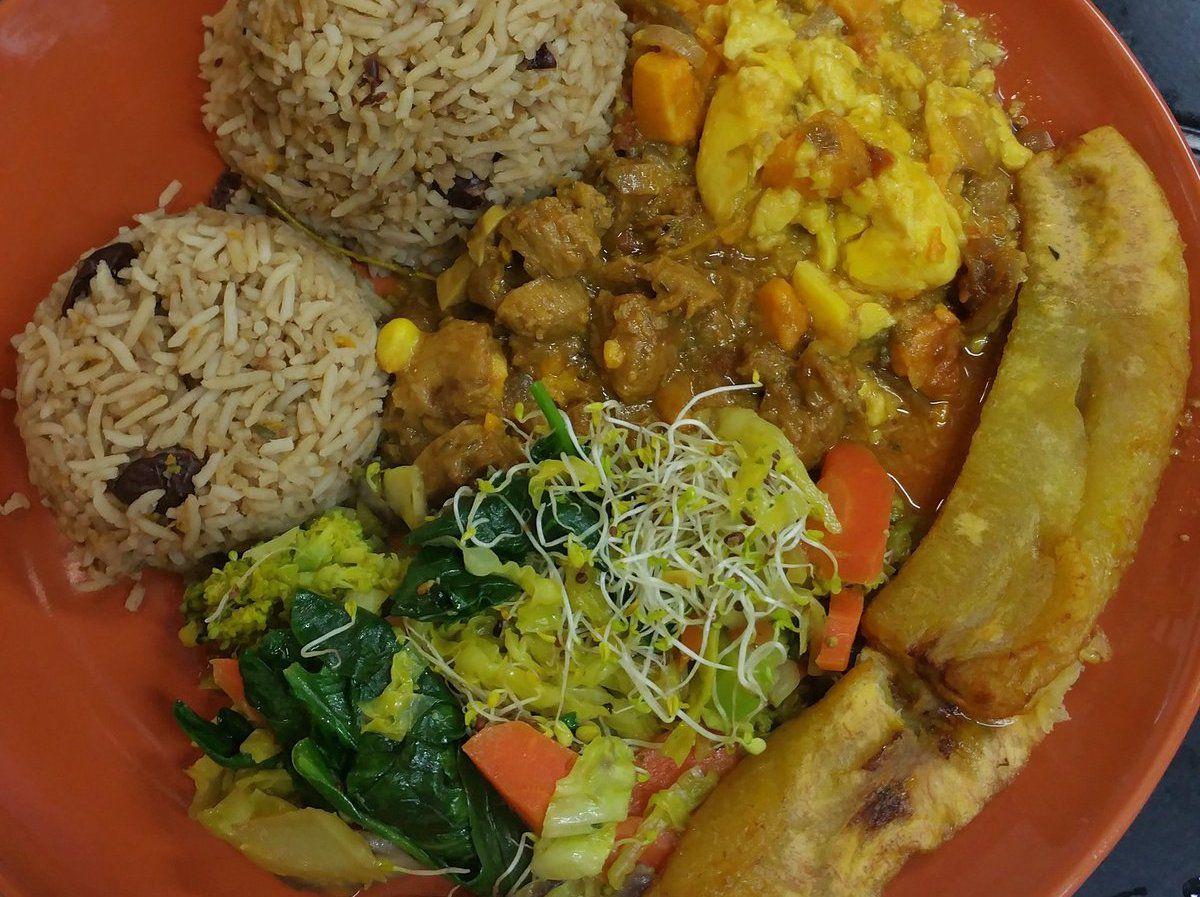 London's best Afro Vegan restaurants: Zionly Manna in Peckham