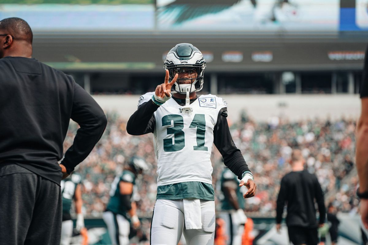 c17199a6c73 Eagles Training Camp Practice Notes: Strong day for Philadelphia's  cornerbacks - Bleeding Green Nation