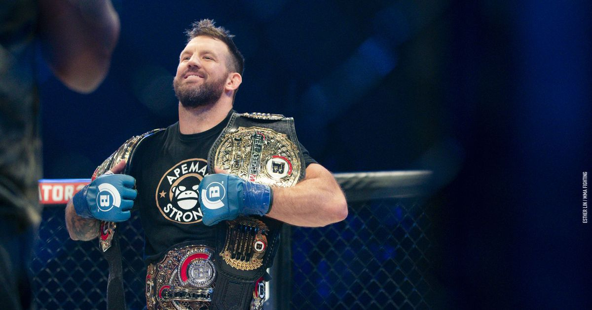 Ryan Bader settling into life as Bellator's 'double champ,' plans to define his legacy by defending both belts