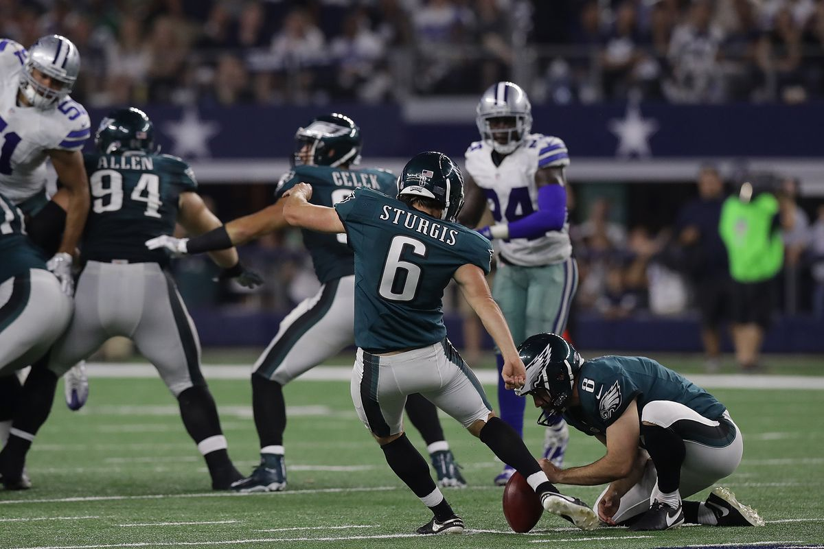 Los Angeles Chargers Signing Former Eagles Kicker Caleb Sturgis Bolts From The Blue