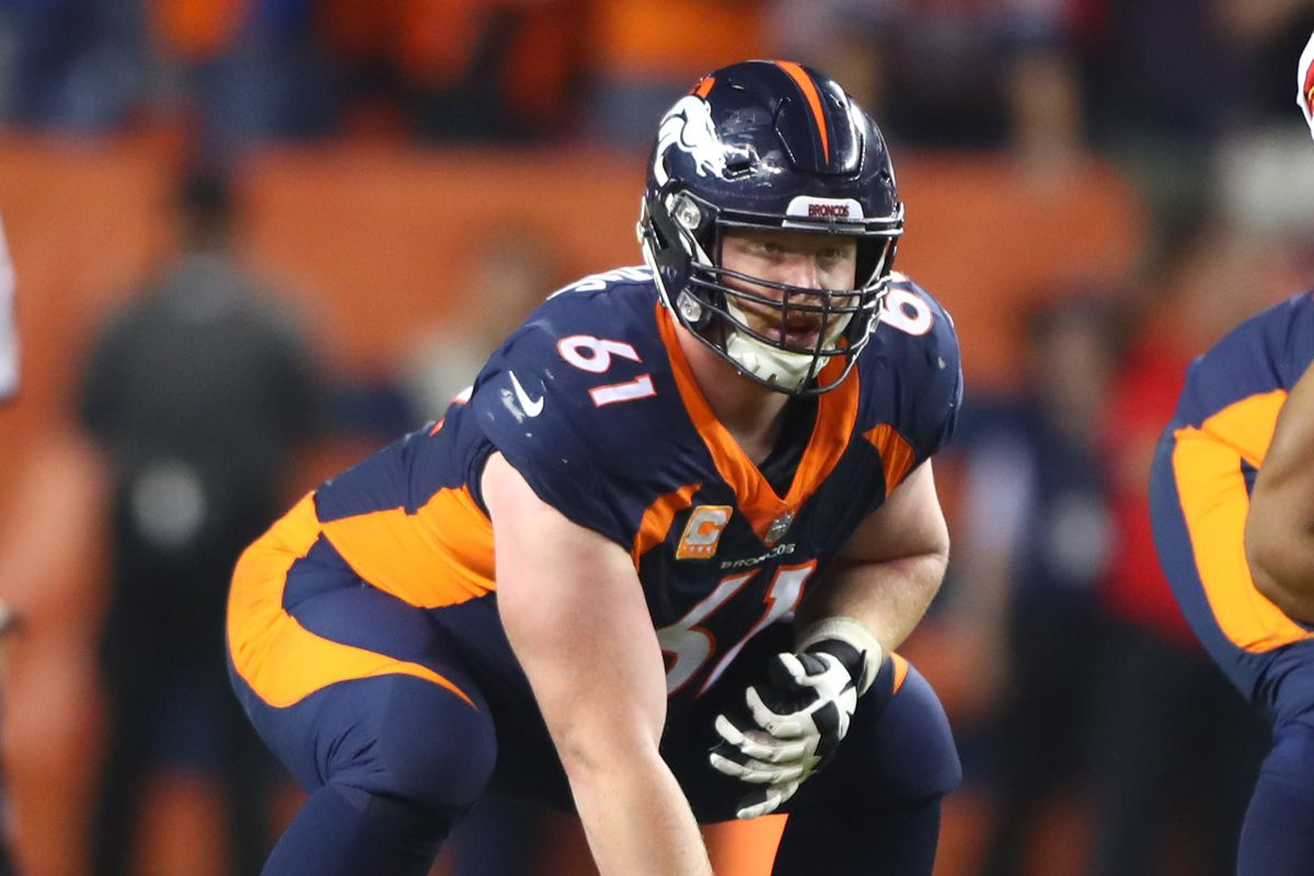 d001d2627f4 Denver s Broncos likely to let Matt Paradis enter free agency - Mile High  Report