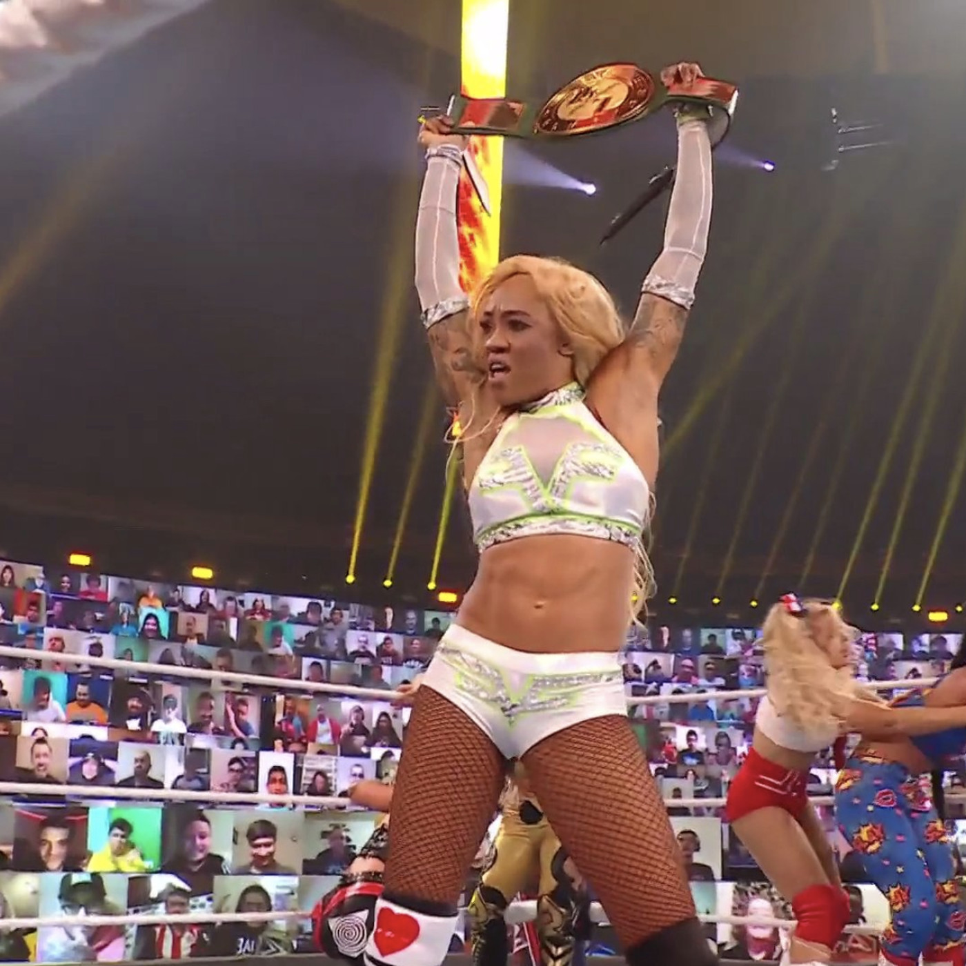 Alicia Fox returned, entered the Royal Rumble, won the 24/7 title, then lost it all - Cageside Seats