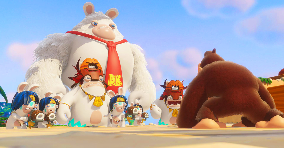 Mario Rabbids Kingdom Battle Donkey Kong Adventure