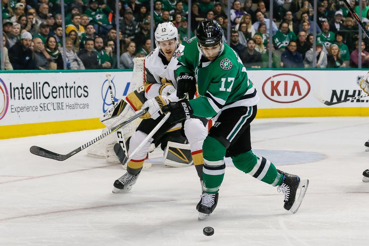 NHL: MAR 15 Golden Knights at Stars