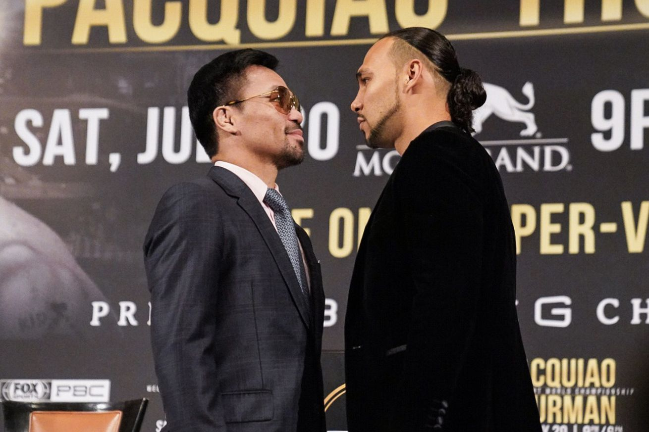 Pacquiao vs Thurman Presser in LA 04.0 - Pacquiao-Thurman: Los Angeles press conference quotes