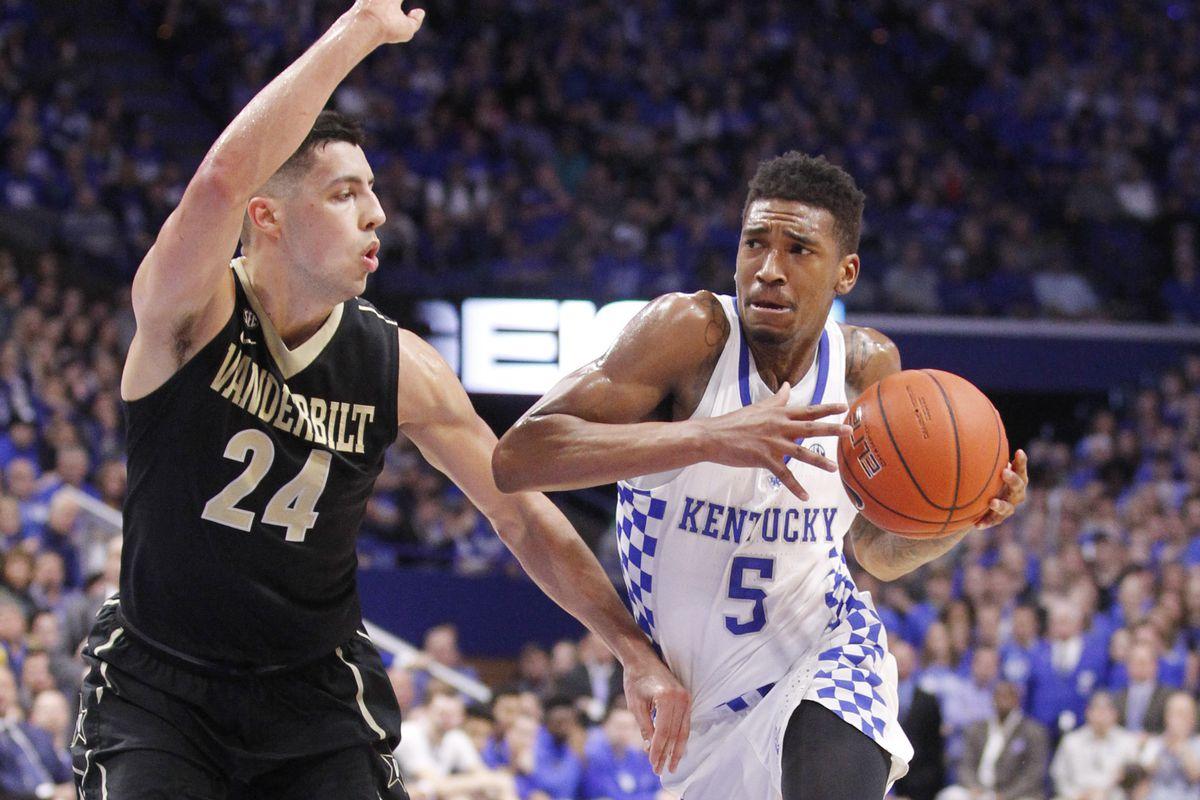NCAA Basketball: Vanderbilt at Kentucky