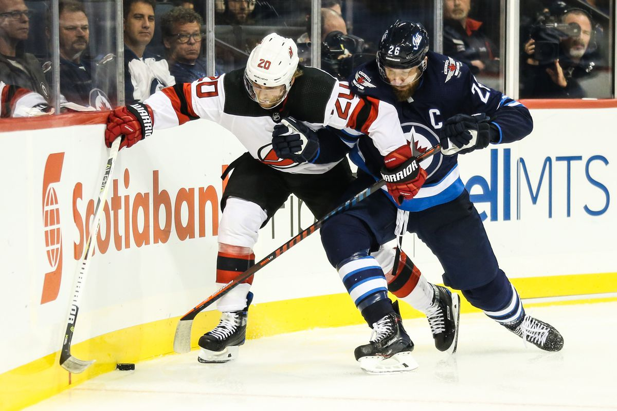 online retailer 12fc0 34e76 GDT: Winnipeg Jets vs. New Jersey Devils - Arctic Ice Hockey
