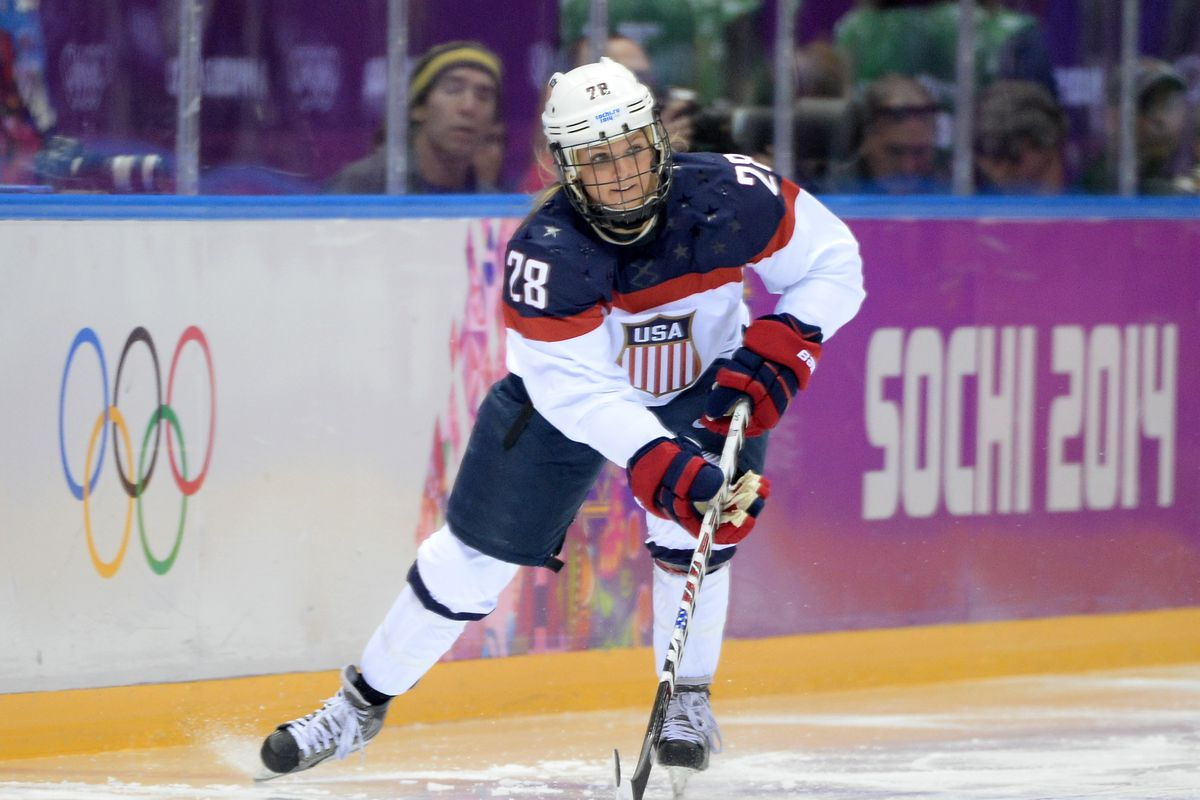 Amanda Kessel Named to USA Roster for Four Nations Cup - Blueshirt ...
