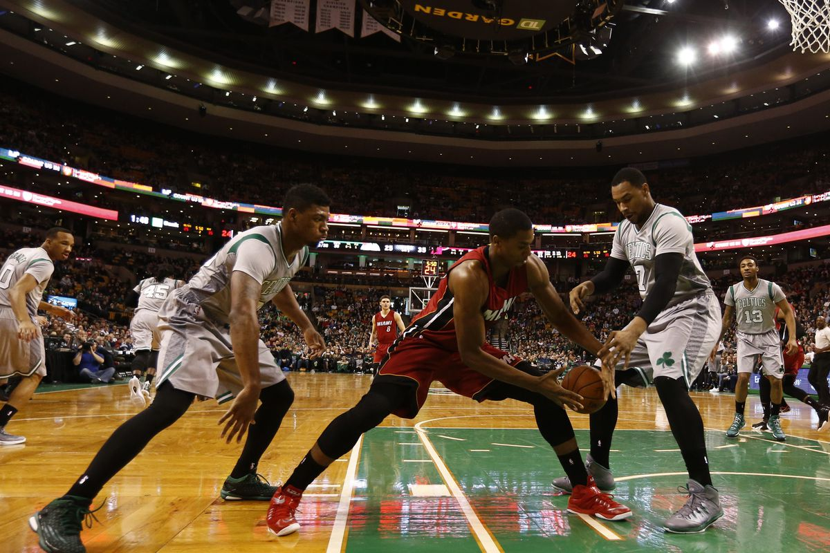 GameStream: Heat get a solid win in Boston through youthful talent - Hot Hot Hoops