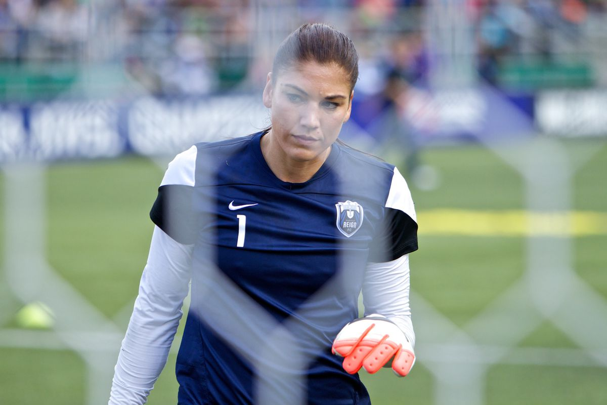 Goalkeeper Hope Solo currently has a pending domestic violence case.