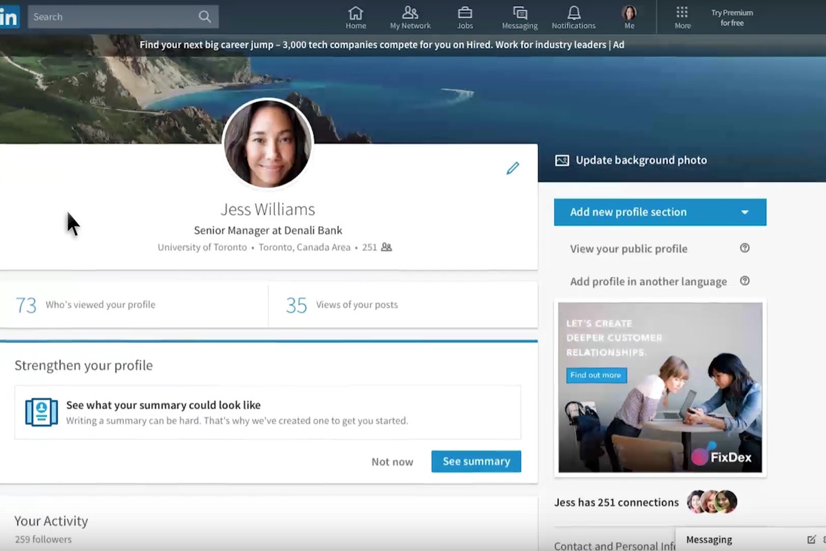 LinkedIn's new design looks a lot like Facebook - The Verge