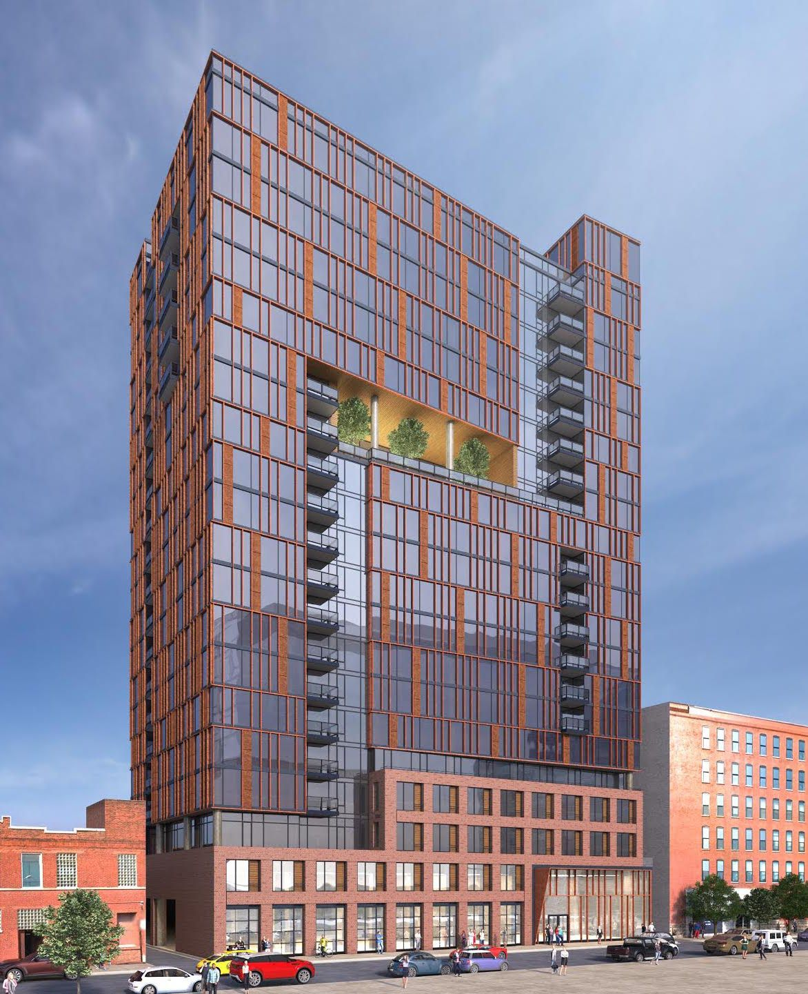 Dual 24 Story Apartment Towers Debut At 8th Spring: 20-story Fulton Market Apartment High-rise Gets Public