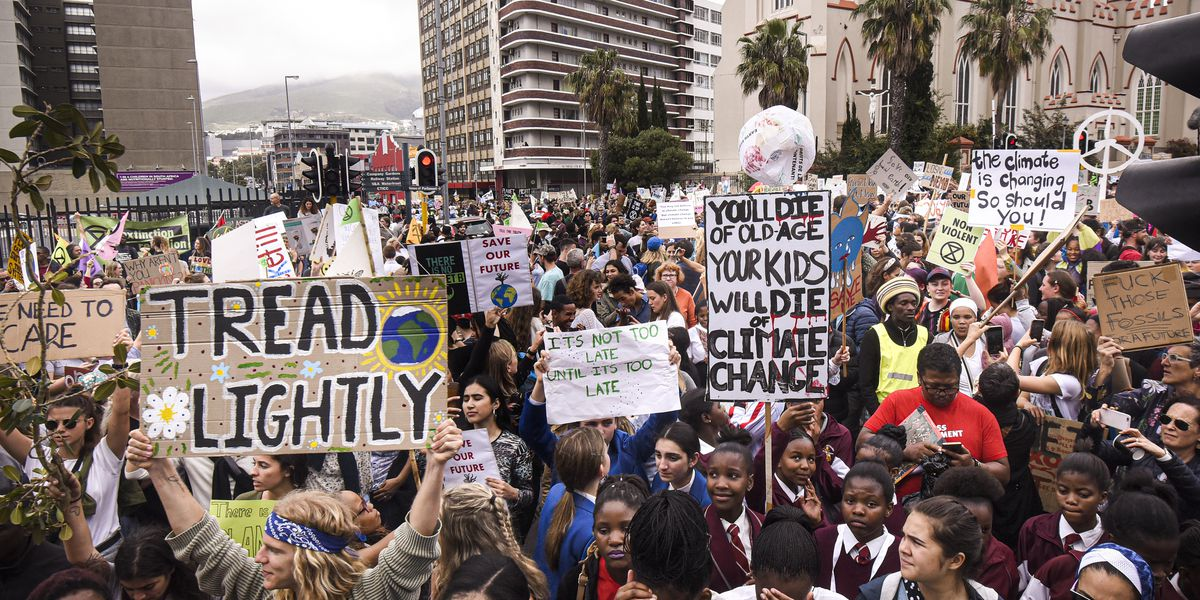 Photos: What the youth climate strike looks like around the world