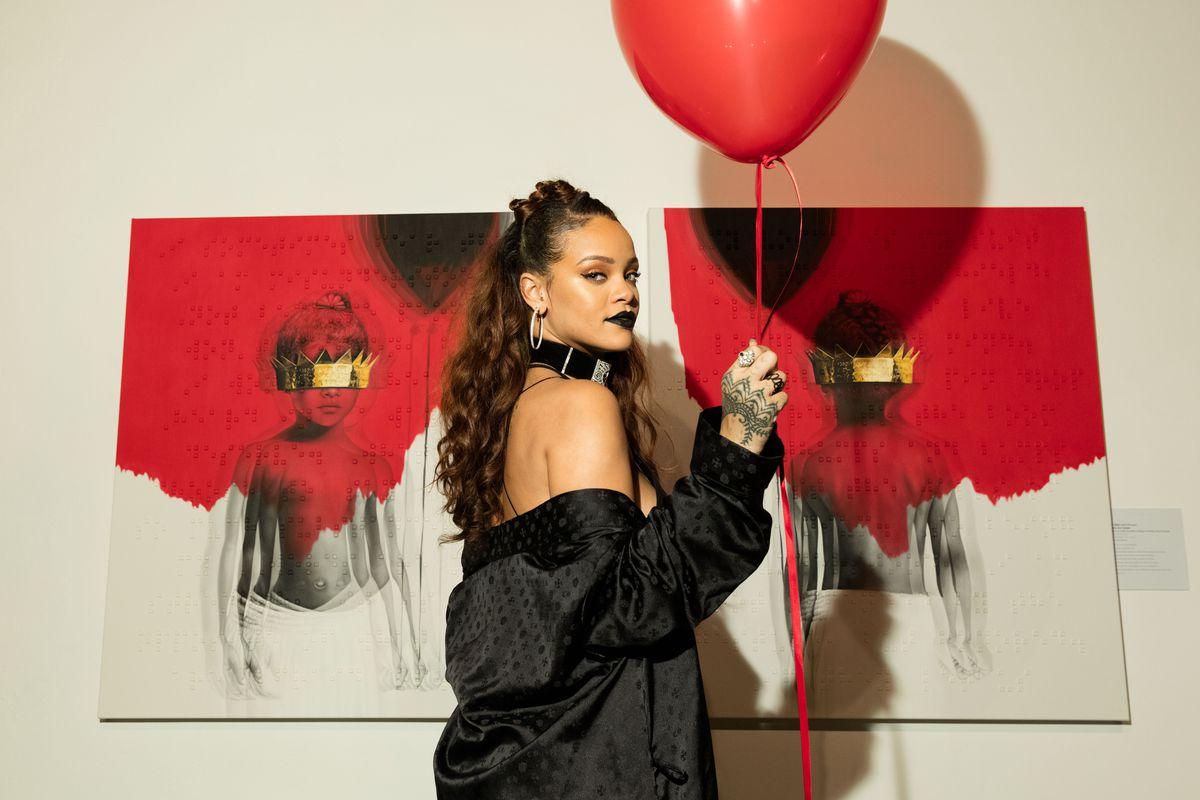 Rihanna, patron saint of stoned swagger.
