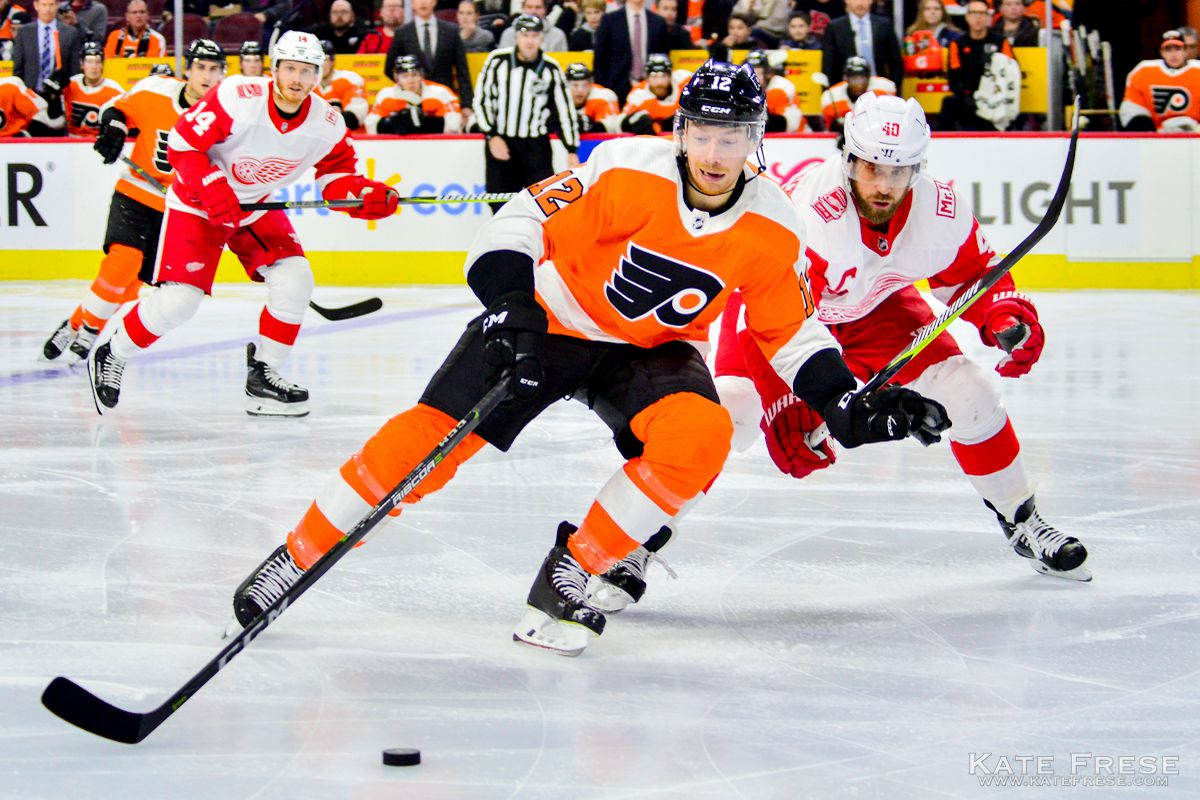 69b49a8bae6 Flyers 4, Red Wings 3: 10 things we learned with the Flyers getting ...