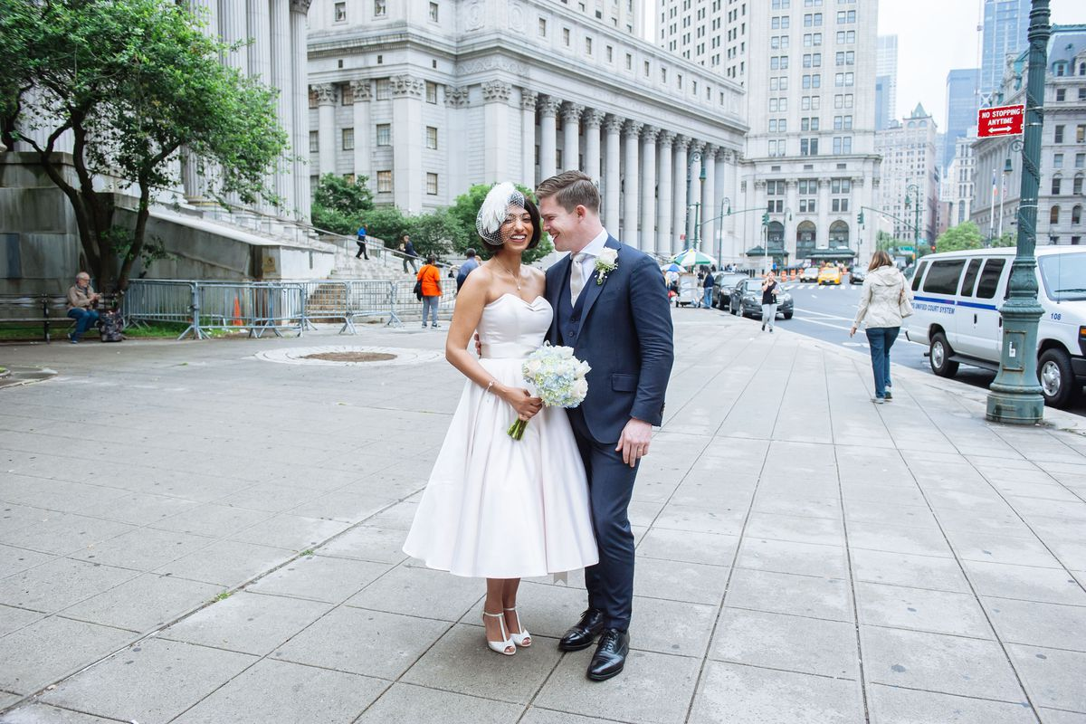 The Tinder Couple That Flew In From London To Marry At New York S City Hall Racked Ny,Sea Green Color Combination Dresses Pakistani