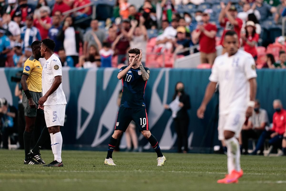 Soccer: 2021 Concacaf Nations League Finals-Honduras at USA
