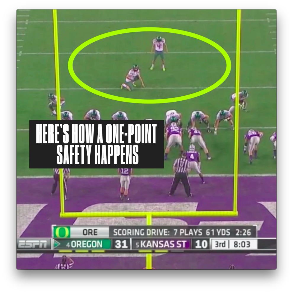 1 Point Safety >> The One Point Safety Is The Nfl S Rarest Scoring Play Sbnation Com