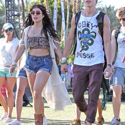What's a festival style roundup without boho fiend Vanessa Hudgens?