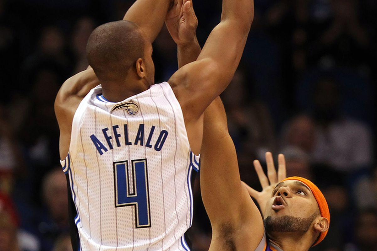 Arron Afflalo and Jared Dudley