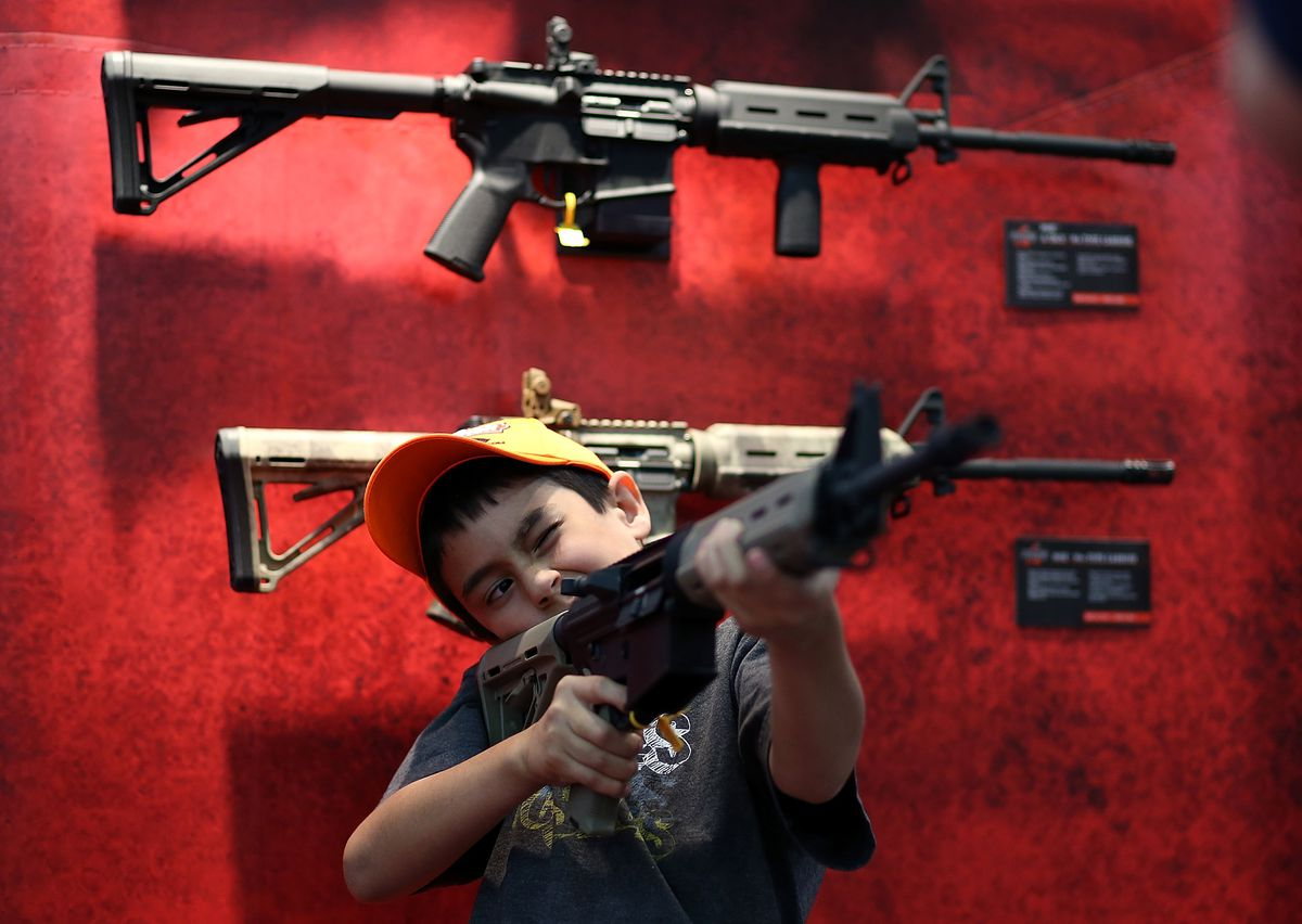 How gun control works in America, compared with 4 other rich