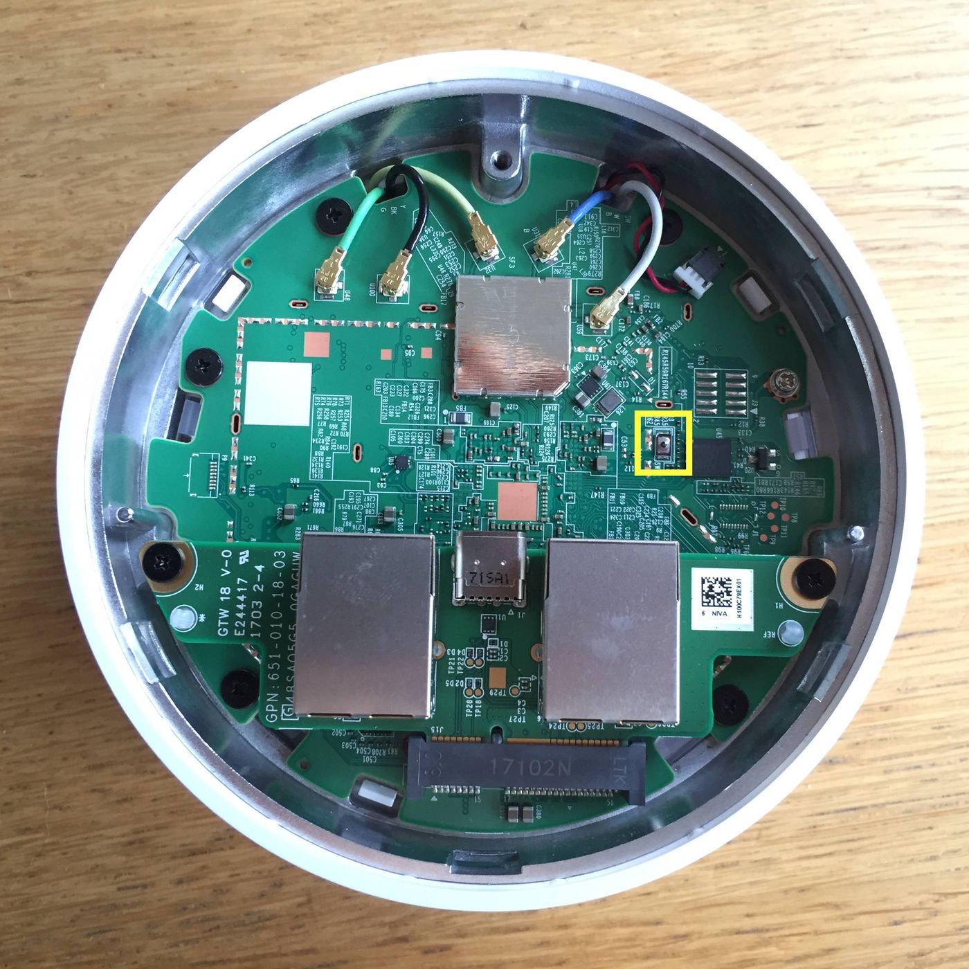 You Can Root Your Google Wifi Router But Youll Need A Screwdriver And Components Used In Basic Electronics Hacks Mods Circuitry The Verge
