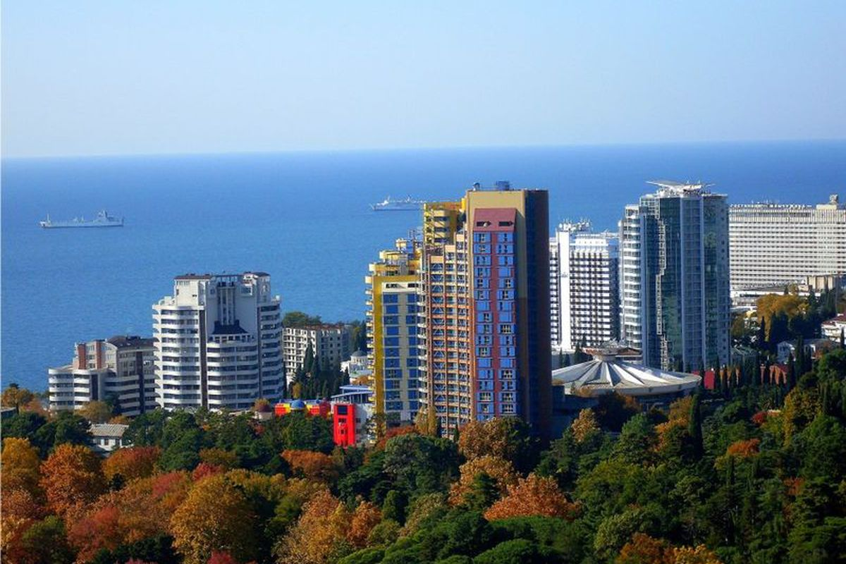Sochi - not the views of Russia you Americans think of.