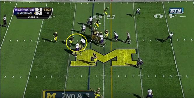 FF - Northwestern - Smith - 18-Yard Run - 3