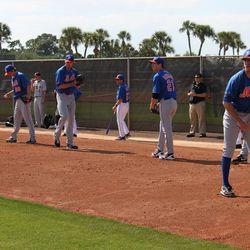 Minor league pitchers