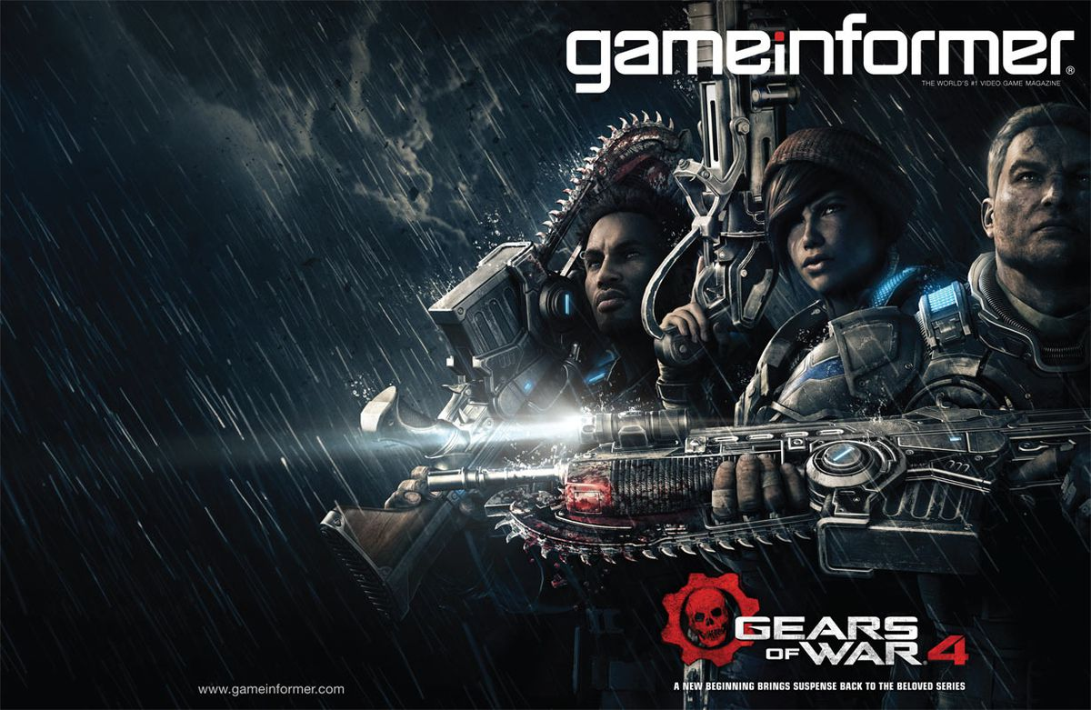 Gears of War 4 - Game Informer cover 1229